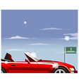 highway convertible vector image