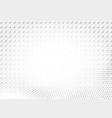 light halftone futuristic dot background vector image vector image