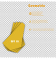 minimal geometric covers design geometric vector image vector image