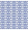 pixel ethnic background vector image vector image