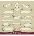 Vintage banners set vector image vector image