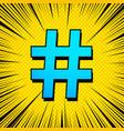 comic social media bright concept vector image vector image