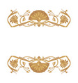 egyptian ornament background vector image vector image