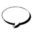 hand draw comic speech bubble