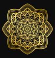mandala design ethnic round ornament hand drawn vector image vector image