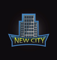 New city professional logo vector image