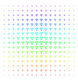 wi-fi icon halftone spectral pattern vector image vector image