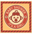 bashower greeting card vector image vector image