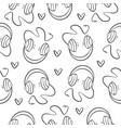 collection music element pattern style vector image vector image