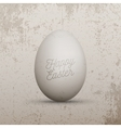 Easter design Element Realistic chicken Egg vector image