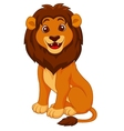 Funny lion cartoon vector | Price: 1 Credit (USD $1)