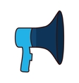 Isolated megaphone design vector image vector image