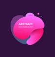 modern futuristic ultra violet element vector image vector image