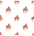 octopus triangle seamless pattern backgrounds vector image