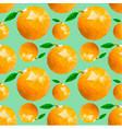 orange pattern vector image vector image