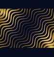 premium golden wavy pattern design vector image vector image
