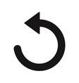 reload icon vector image vector image