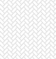 Seamless White Brick Texture vector image