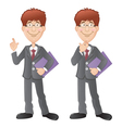 Two office workers vector | Price: 1 Credit (USD $1)