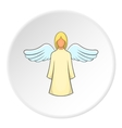 Angel icon flat style vector image