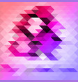 background polygonal vector image vector image