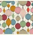 seamless abstract wallpaper pattern colorful vector image vector image