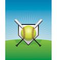 Softball and Bats