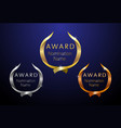 award modern ribbon