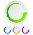 Circular preloader buffer symbol or general