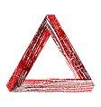 Fantastic triangle2 vector image