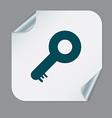 key symbol icon vector image vector image