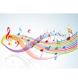 music theme vector image vector image