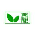 plastic free green icon badge bpa free