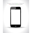 Ultra Realistic modern touch smartphone vector image