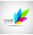 Creative colorful abstract logo design Template vector image vector image