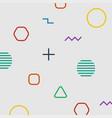 geometric background minimal design vector image vector image