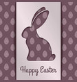 happy easter greeting card designv vector image vector image