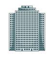 high-rise building skyscraperrealtor single icon vector image vector image