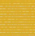 horizontal lines seamless background yellow vector image vector image