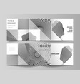 minimal editable layout square format vector image vector image