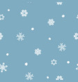 Seamless xmas snow flake pattern blizzard