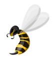 wasp needle icon cartoon style vector image