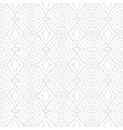 White vintage geometric texture in art deco style vector image vector image