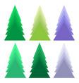 A set of christmas tree