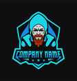 beard gammers vector image vector image