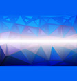 blue shades pink random sizes low poly background vector image vector image
