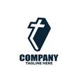 book church and logo education vector image
