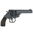 classic heavy handgun vector image vector image