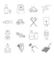 knife cooking beauty and other web icon in vector image vector image