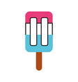 popsicle ice isolated icon vector image vector image